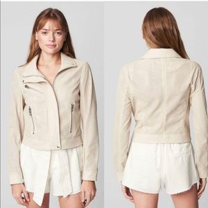 NWT Anthropologie Leather Motorcyle Jacket